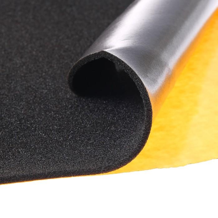 Шумоизоляционный материал Изоскрип 5, размер: 5х1000х750 мм