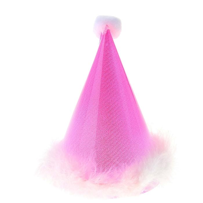 Световой колпак, цвет розовый, 18 см