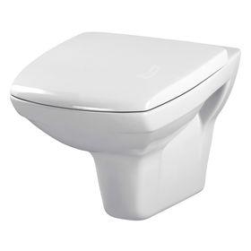 Унитаз подвесной Cersanit CARINA NEW CLEAN ON, сиденье дюропласт, lifting, цвет белый