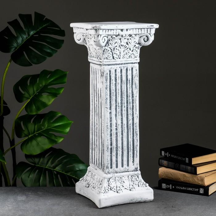"Колонна ""Античная"", серый камень 65х27см"