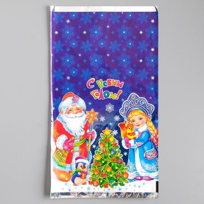 Пакет подарочный ''Новогодние чудеса'', 20 х 35 см (10шт)   2737840