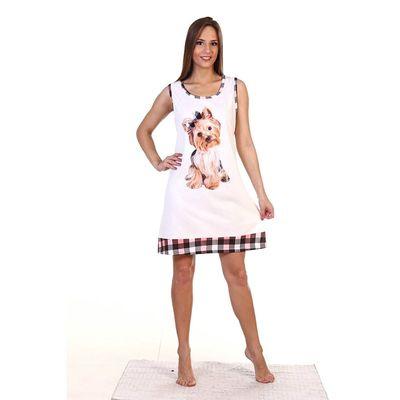 Сорочка женская НС224 цвет МИКС, р-р 50