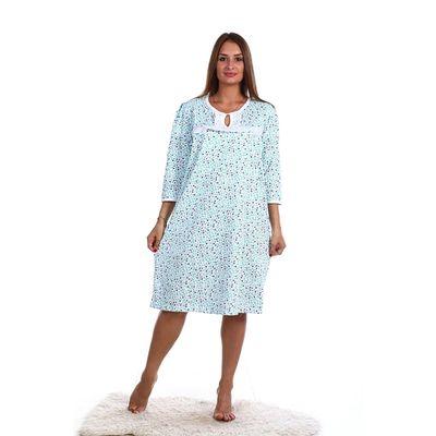 Сорочка женская НС44 цвет МИКС, р-р 52