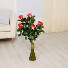 """Куст искусственный """"Бутоны роз"""" 85 см, микс"""