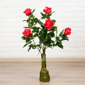 Куст искусственный 'Бутоны роз' 85 см, микс Ош