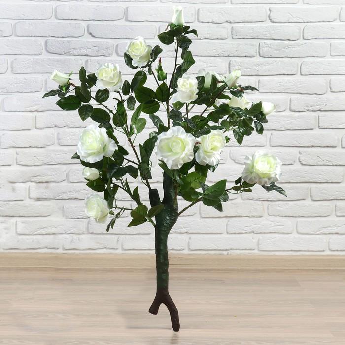 """Куст искусственный """"Розы волнистые"""" 95 см, микс"""