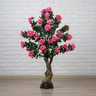 """Куст искусственный """"Цветы шиповника"""" 120 см, микс"""