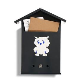 Ящик почтовый с замком, вертикальный, «Почта», серый - фото 7394427