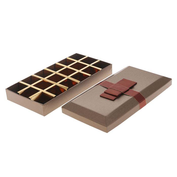 Коробка подарочная, 26 х 13 х 4 см - фото 308036481