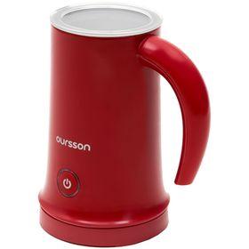 Капучинатор Oursson MF2005/RD, 450 Вт, 0.2 л, 3 режима, автоматическое отключение, красный Ош