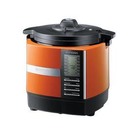Мультиварка-скороварка Oursson MP5005PSD/OR, 1200 Вт, 5 л, 11 программ, мультиповар, оранж.