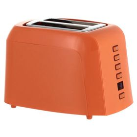 Тостер Oursson TO2145D/OR, 800 Вт, 7 степеней обжарки, 2 тоста, разморозка, оранжевый