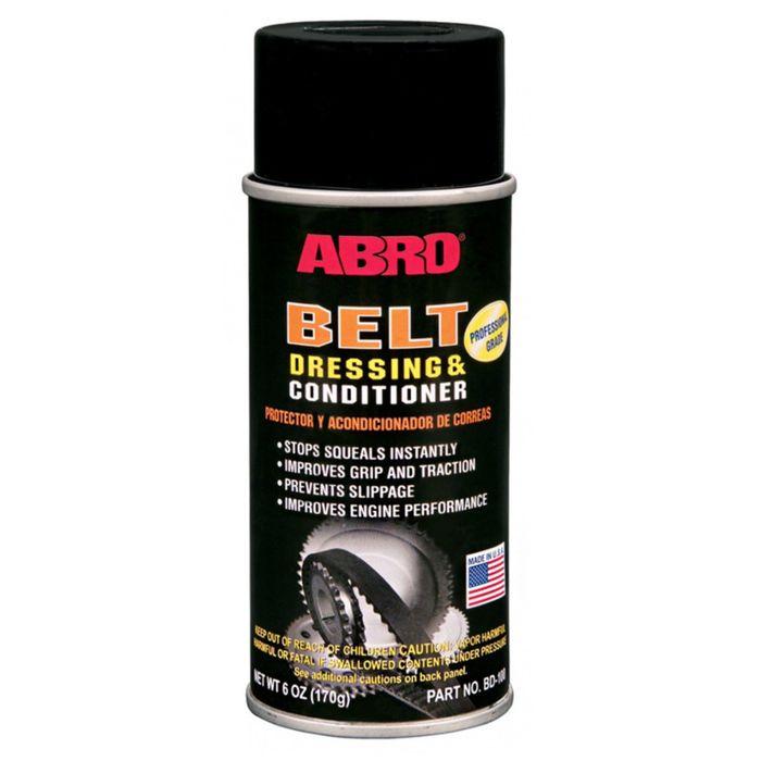 Средство для ремня ABRO Антискрип, 170 г, аэрозоль BD-100