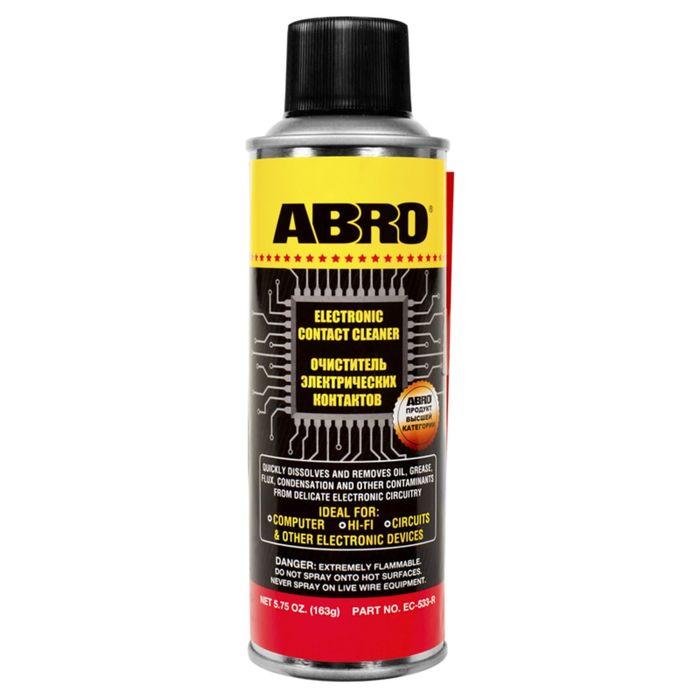 Очиститель электрических контактов ABRO, 163 г EC-533