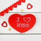 "Soft toy magnet ""Heart"" I Kiss, MIX colors"