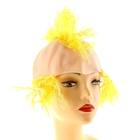 Парик ирокез жёлтый