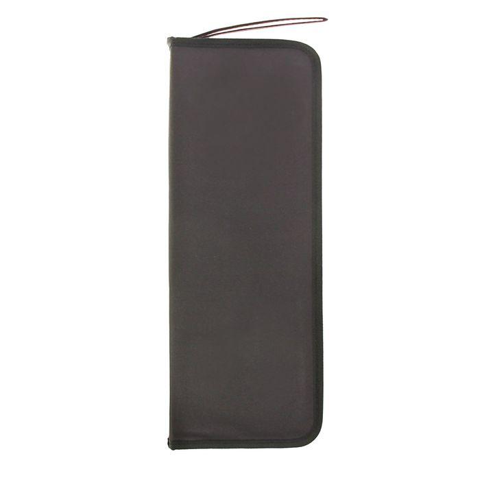 Пенал для 16кистей на молнии ткань 370*155(310)мм