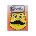 Carnival mustache, black color, kinds MIX