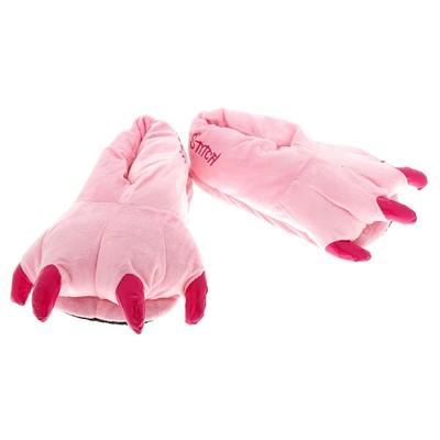 """Тапочки-зверушки """"Лапа монстра"""", р-р 40, цвет розовый"""
