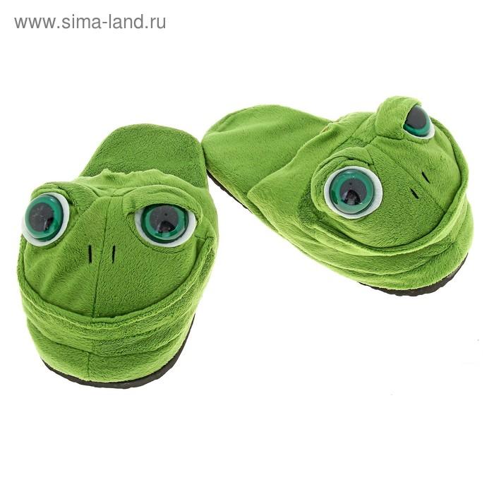 """Тапочки-зверушки """"Лягушонок"""", 36 размер"""