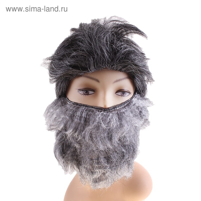 Парик 2 предмета (парик, борода)