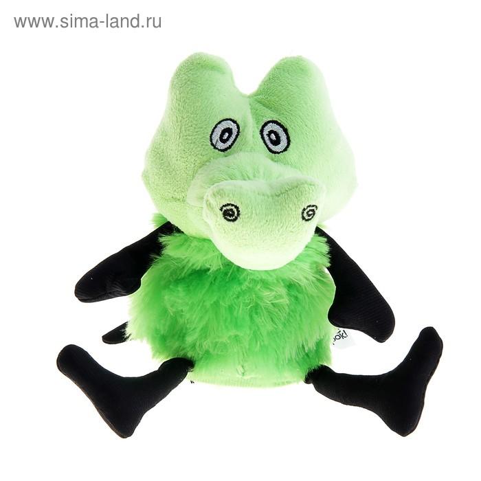 "Мягкая игрушка интерактивная ""Крокодил хохотун"""
