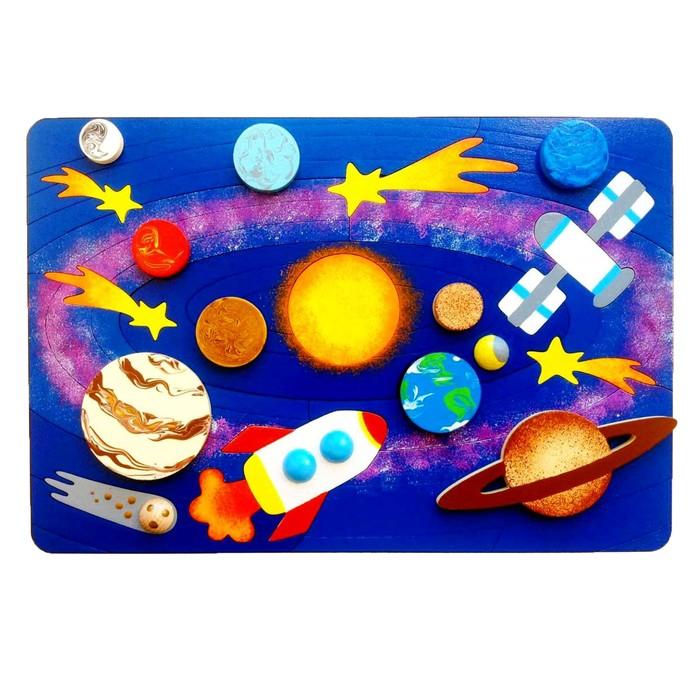 Рамка-вкладыш «Солнечная система» 31 деталь