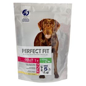 Сухой корм Perfect Fit для собак средних и крупных пород, курица, 800 г