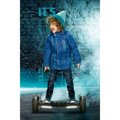 Брюки для мальчика, рост 98 см, цвет тёмно-синий BWP3025/1