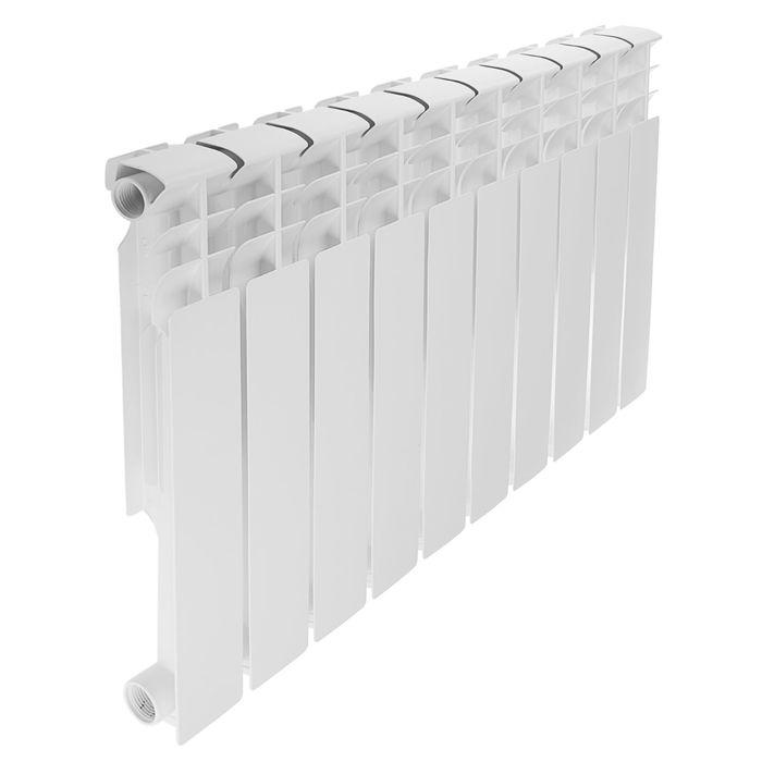 Радиатор алюминиевый REMSAN Professional, 500х80 мм, 10 секций