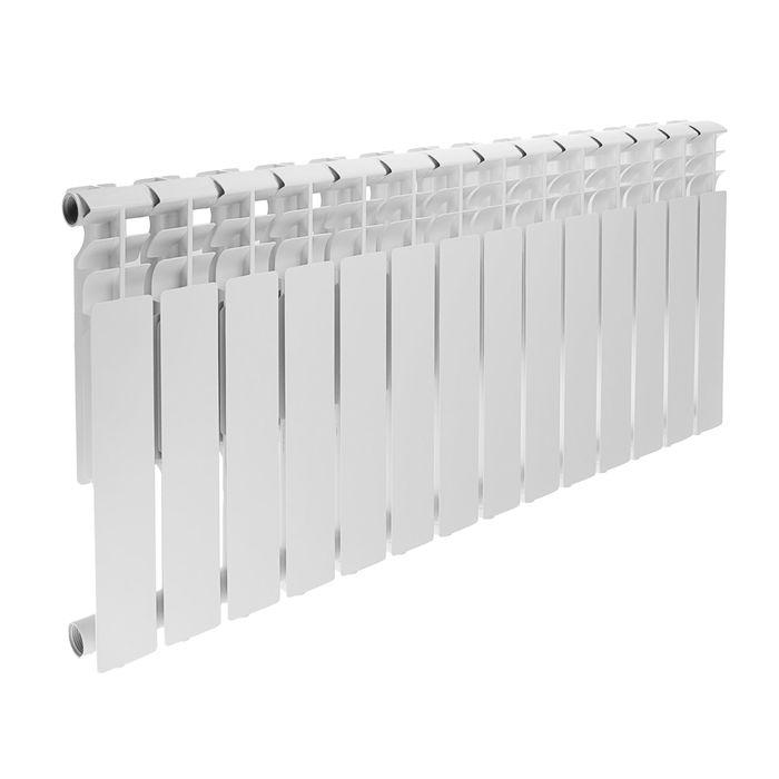 Радиатор алюминиевый REMSAN Professional, 500х80 мм, 14 секций