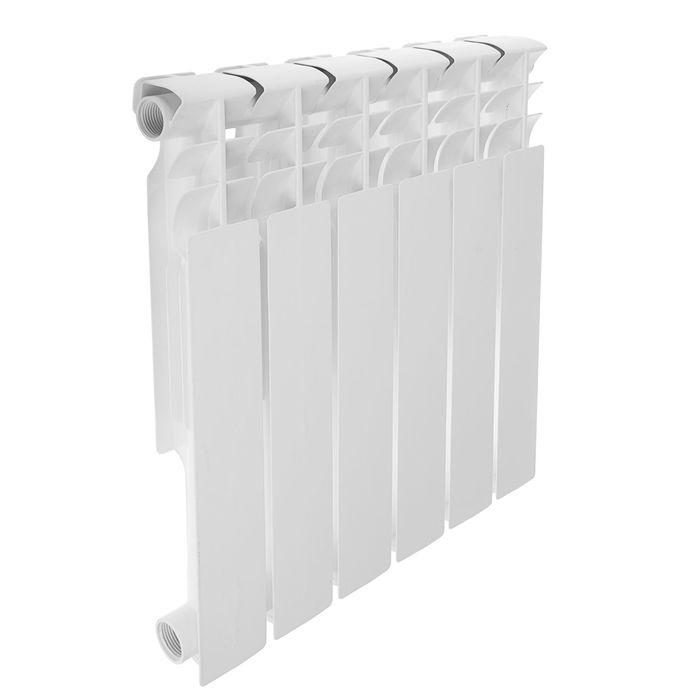Радиатор алюминиевый REMSAN Professional, 500х80, 6 секций