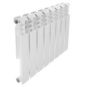Радиатор алюминиевый REMSAN Professional, 500х80, 8 секций Ош