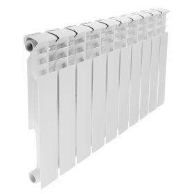 Радиатор биметаллический REMSAN Professional, 500х80 мм, 10 секций Ош