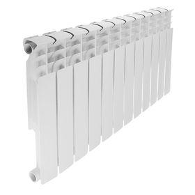 Радиатор биметаллический REMSAN Professional, 500х80 мм, 12 секций Ош
