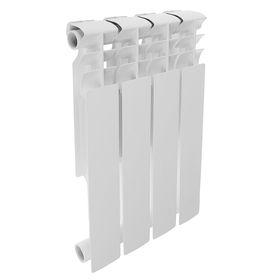 Радиатор биметаллический REMSAN Professional, 500х80, 4 секций Ош