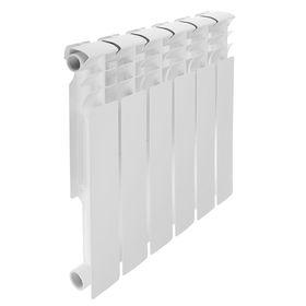 Радиатор биметаллический REMSAN Professional, 500х80 мм, 6 секций Ош