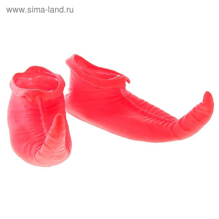 """Прикол """"Ботинки - Скороходы"""", цвет красный"""