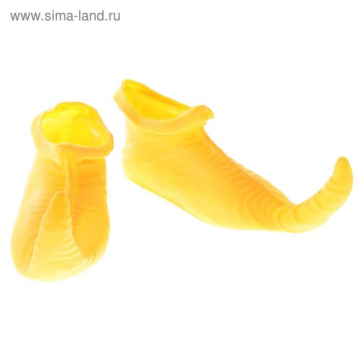"""Прикол """"Ботинки - Скороходы"""", цвет желтый"""