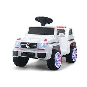 Электромобиль «Гелик», радиоуправление, активная подвеска, цвет белый