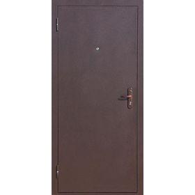 Дверь входная Стройгост 5-1 Металл-Металл 2060х980 (левая)