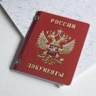 Обложка для документов, набор, цвет красный