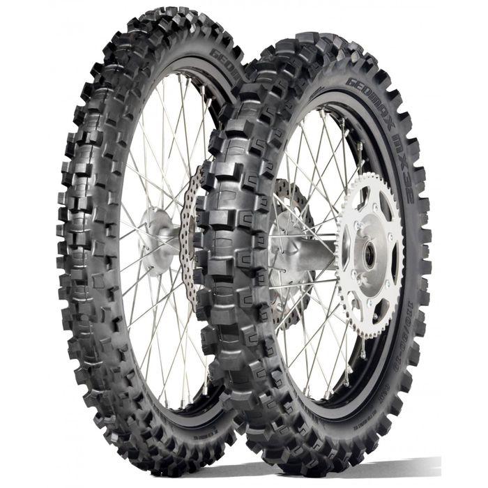 Мотошина Dunlop Geomax MX3S 80/100 R12 41M TT Rear Кросс