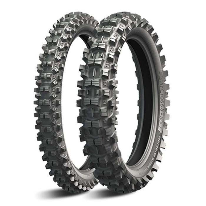 Мотошина Michelin Starcross 5 SOFT  80/100 R21 51M TT Front Кросс