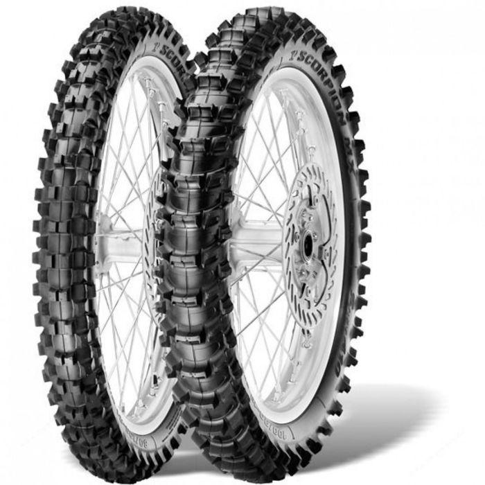 Мотошина Pirelli Scorpion MX Soft 410 80/100 R21 51M TT Front Кросс