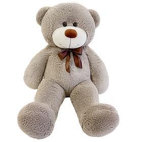 Мягкая игрушка «Мишка Фёдор», цвет светло-коричневый, 115 см