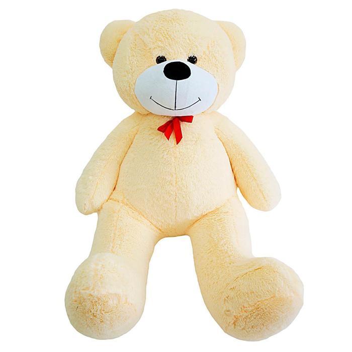 """Мягкая игрушка """"Мишка Федор"""", цвет персиковый, 150 см"""