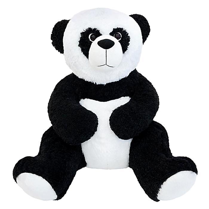Мягкая игрушка «Мишка Панда Эллай», цвет чёрно-белый, 85 см