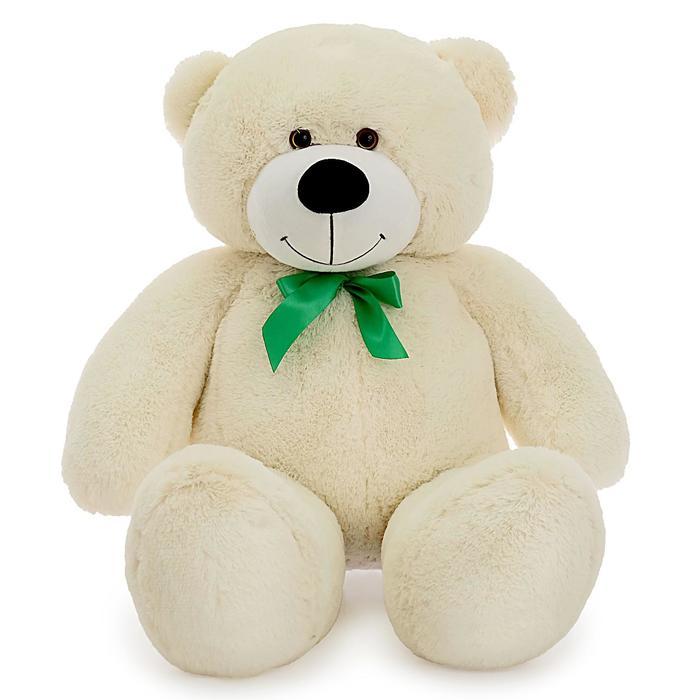 Мягкая игрушка «Мишка Фёдор», цвет молочный, 105 см, МИКС