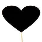 """Топпер меловой """"Сердце"""", 10 х 7 см"""